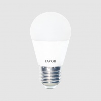 Bec LED FAVOR OPTIM G45 8W E27 6500K