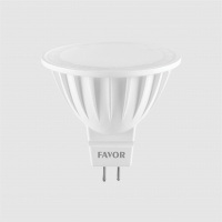 Bec LED FAVOR OPTIM MR16 7W GU5 3 6500K